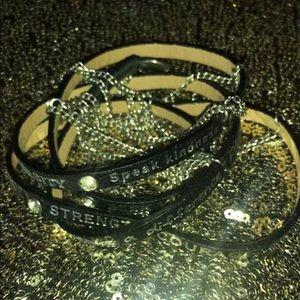 Good works black bracelet